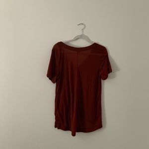 Free People Tops - We the Free Rust Soft T-Shirt